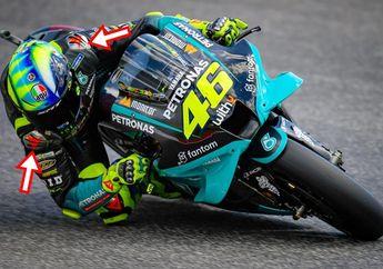Barang Aneh di Wearpack Valentino Rossi, Dipakai di MotoGP Italia 2021