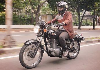 Jarang Kelihatan, Kawasaki W250 Rupanya Sport 250 Cc Nyaman Banget