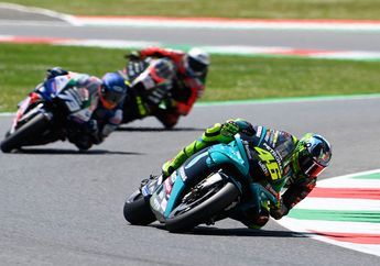 MotoGP 2021 Valentino Rossi Gasak Hasil Terbaik, Nih Faktanya