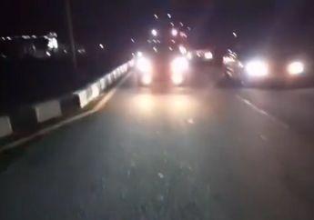 Viral, Video Pria Bubarkan Balap Liar Yang Tutup Jalan Sampai Pemotor Gak Bisa Lewat