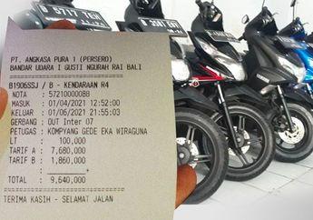 Kaget, Parkir Bandara I Gusti Ngurah Rai Setara Harga Honda BeAT Bekas