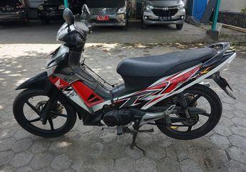 Lelang Motor Bekas Murah Honda Supra X 125, Kondisi STNK dan BPKB Aman