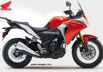 Muncul Gambar Render Honda CBR250R Versi Sport Touring, Bakal Dibuat?