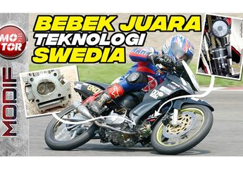 Nostalgia Yamaha Jupiter Z Star Motor, Bebek Balap Teknologi Swedia