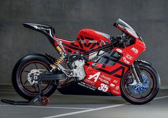 Gokil, Motor Listrik Berkonsep Superbike, Punya Top Speed Segini!