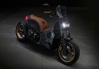 Modifikasi Yamaha TMAX Dirombak Ala Cafe Racer, Muka Mirip MT-09!