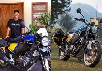 Modifikasi Yamaha XSR 155 Overlander, Siap Diajak Adventure Ringan