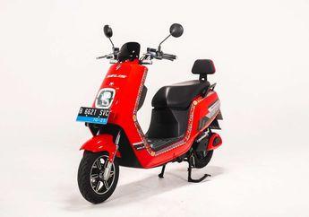Harga Motor Listrik Selis E-Max Versi Baterai Lithium, Bisa Tempuh Jarak Segini