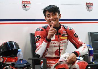 Komentar Pembalap Indonesia Mario Suryo Aji Pole Position CEV Moto3 Catalunya 2021