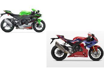 Adu Spek Kawasaki ZX-10R Vs Honda CBR1000RR-R, Beda Rp 500 Jutaan