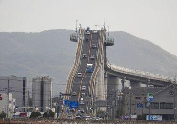 Gokil, Jembatan di Jepang Kemiringannya Bikin Pengendara Motor Merinding!