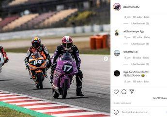 Pembalap Ini Diserang Netizen Usai Bikin Mario Suryo Aji Gagal Podium