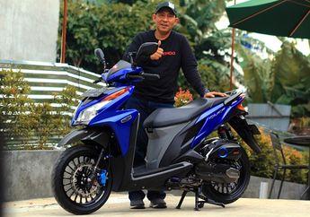 Modifikasi Honda Vario 125 Old Tampil Kalem, Mesin Bore Up 153 cc