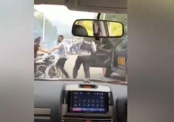Tegang, Video Aksi Balap Liar Digrebek Polisi Gara-gara Laporan Wanita ke Call Center 110