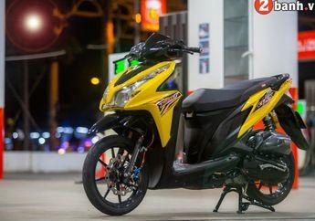 Modifikasi Honda Vario Techno 125, Kaki-Kaki Mantap Plus Bodi Kinclong