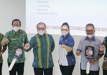 Mantap, CV. Sumber Jadi Sosialisasi Kurikulum SMK Binaan Sekaligus Donasi Motor Yamaha