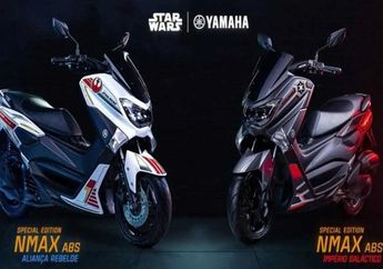 Baru Meluncur, Yamaha NMAX Star Wars Ludes Terjual, Segini Jumlahnya