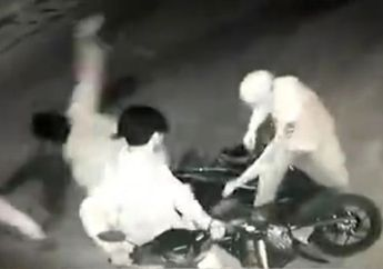 Kudus Mencekam, Polisi Kena Bacok Begal Sadis, Motor Berhasil Digasak