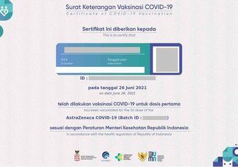 Cara Download Sertifikat Vaksin Covid-19 di PeduliLindungi, Gampang Banget