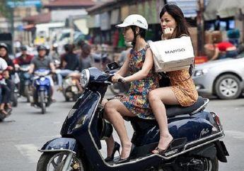5 Kebiasaan Pengendara Motor Wanita, Nomor 1 dan 5 Paling Sering Terjadi