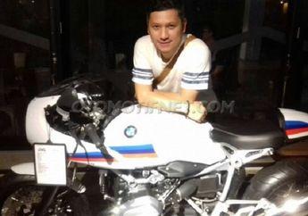 Begini Panggilan Sayang Gading Marten Ke Motor BMW R Nine T Miliknya, Kocak...