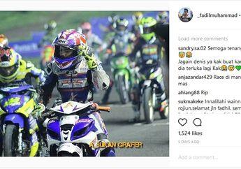 Netizen Minta Tolong Almarhum Pembalap Nabire Papua Muhammad Fadil Jaga Denis Kancil