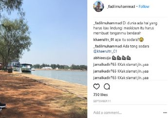 Sebelum Meninggal, Fadil Muhammad Sempat Memosting Kata-kata Misterius di Akun Instagram Miliknya