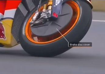 Mengejutkan, Ini Alasan Cakram Depan Motor MotoGP Dibungkus Rapat Saat Hujan