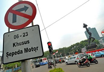 Polisi Keberatan Mahkamah Agung Cabut Pergub Larangan Motor Masuk Protokol