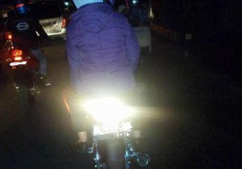 Hore..!! Polisi Bakal Tindak Tegas Motor yang Pakai Mika Rem Bening