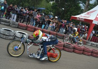 Hasil Lomba Drag Bike Cimahi:  Event Di Kemas Ciamik Bikin Pembalap Tertarik