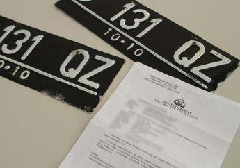Warna Dasar Pelat Nomor Kendaraan di Indonesia Akan Diganti, Jadi Mudah di Baca CCTV