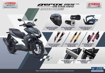 Delapan Aksesoris Dari Yamaha Ini Wajib di Instal Pemilik Aerox 155, Garansi Tidak Hangus!