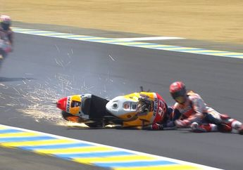 Gelaran MotoGP Identik dengan Kecelakaan dan Kematian,  Ini Komentar Mengejutkan Marc Marquez