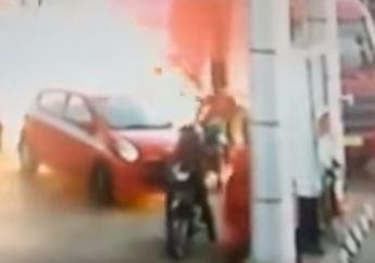 Larangan Motor Pakai Knalpot Racing Isi Bensin di SPBU Pertamina? SPBU Bisa Meledak di Video Ini