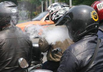 Hampir Buta, Ini Curhatan Biker Yang Kena Bara Api Rokok!