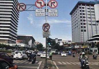 Horee! Sekarang Pengendara Motor Bebas Melintasi Jalan MH Thamrin Lagi