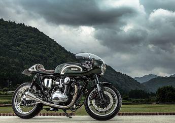 Kawasaki W650 Ini Kental dengan Nuansa Cafe Racer Khas Eropa