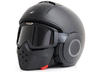 Ada yang Tahu Desain Helm Produksi Masal Pertama di Dunia Seperti Apa?