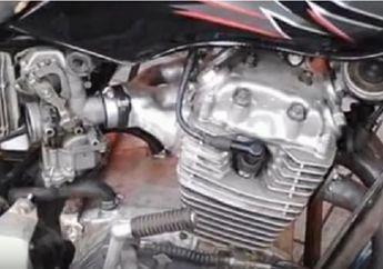 Mantap Jiwa! Video Modifikasi Honda Megapro 3 Silinder, Suaranya Moge Banget Bro!