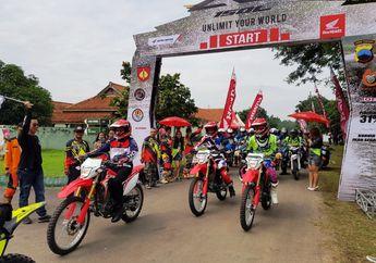 Sampai di Jawa Tengah, Honda CRF150L Diserbu Ribuan Pecinta Trabas
