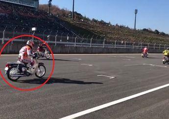 Gile! Harga Bebek Honda 110 cc yang Dipakai Balap Marc Marquez Bikin Keok CBR150R