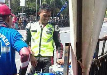 Waduh! Terungkap Alasan Hasan Menggunakan Rompi Polisi Saat Balap Road Race dan Dilempar Karung