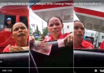 Video Petugas SPBU Ketahuan Nakal Oleh Konsumen, Selanjutnya...