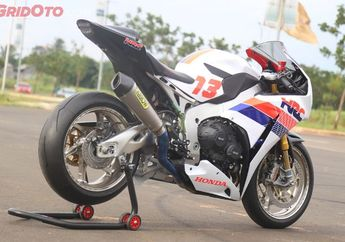 Edan! Honda CBR1000RR SP Modifikasi Ini Dibanderol Setara Harga 2 Unit Mistubishi Expander Sport
