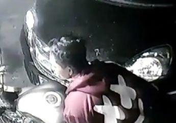 Nekat! Video Detik-detik Pencurian Kawasaki Ninja 1000, Santai Banget Malingnya Gondol Motor