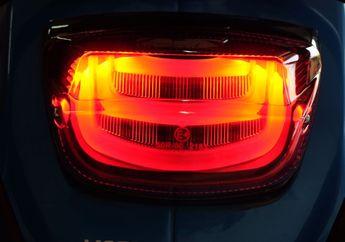 Biar Keliatan Futuristik, Pasang Stoplamp LED di Vespa Loe