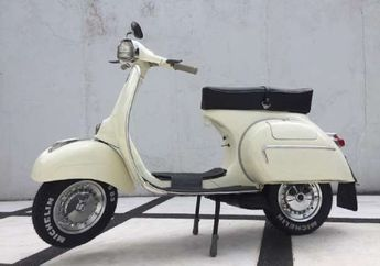 Gokil, Vespa Tahun 1964 Asal Bandung Ini Dijual Lebih dari 3 Kali Honda BeAT eSP