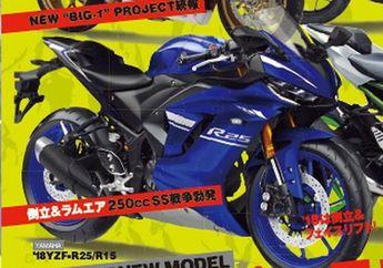 Yamaha R25 Resmi Bakal Diupdate, Seperti Ini Tampangnya?