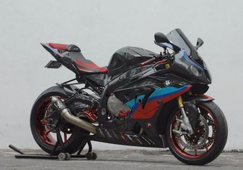 Gawat! Dikira Kawasaki Ninja 250, Enggak Tahunya BMW S1000RR Full Karbon